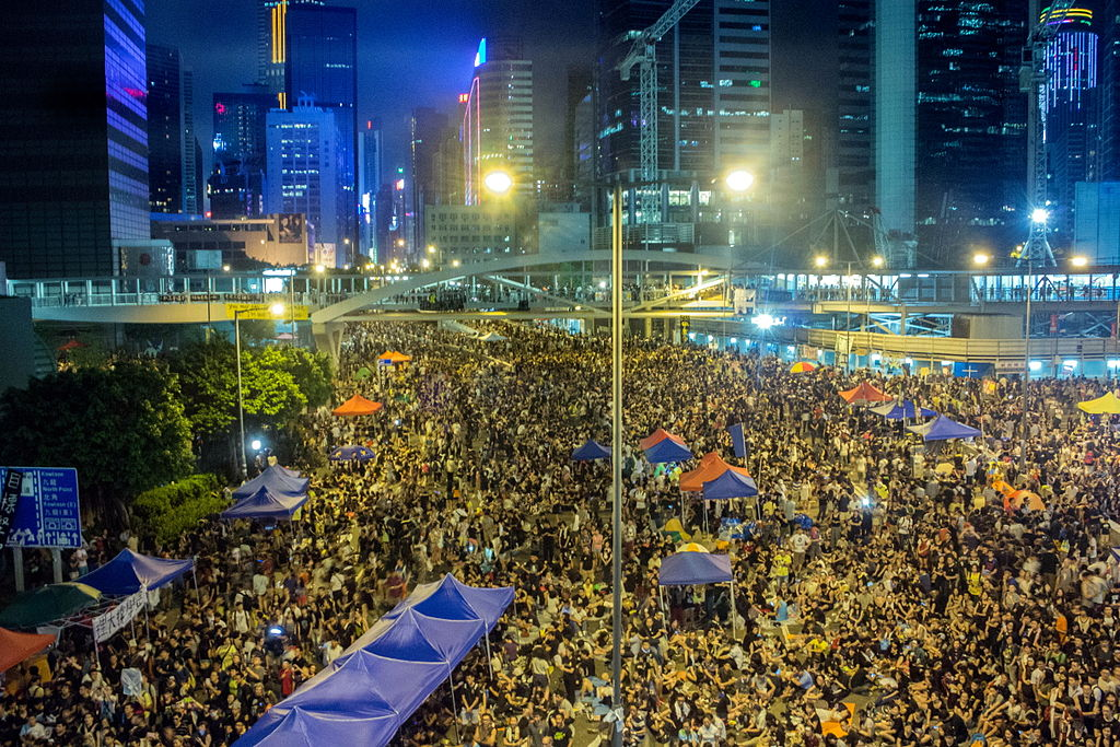 hong kong occupy central civil disobedience china democracy